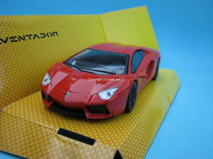 Lamborghini Aventador orange 1:43 Mondo Motors